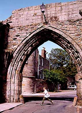 Archway Off North Street - St. Andrews, Scotland - 1 August 1997 14-7445