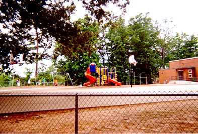 The small playground at Brooks is my favorite playground.