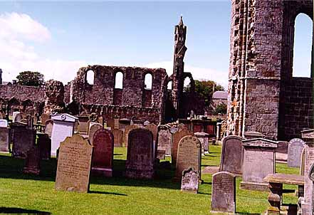 St. Andrews Cemetary - St. Andrews, Scotland - 1 August 1997 7-7445
