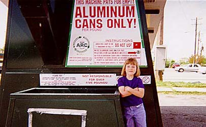 Dana-Aluminum Can Recycle Machine