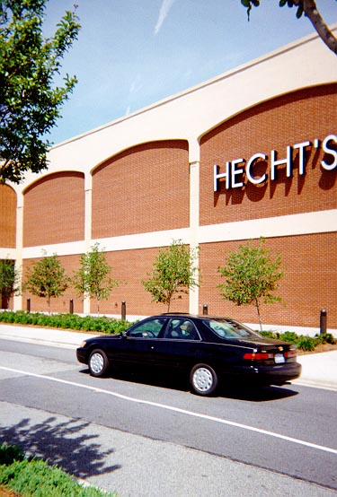 Hecht's was my favorite store and Scott's first real job.
