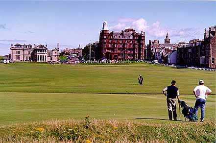 The Royal And Ancient Golf Course - St. Andrews, Scotland - 1 August 1997 18-7445