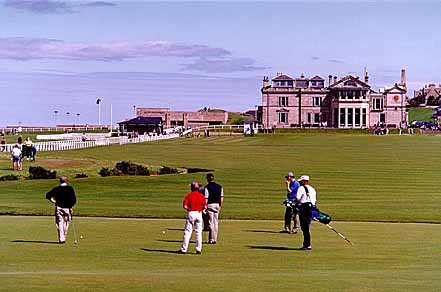 The Royal And Ancient Golf Course - St. Andrews, Scotland - 1 August 1997 20-7445