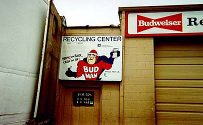 Paul-Budman Aluminum Can Recycle Center