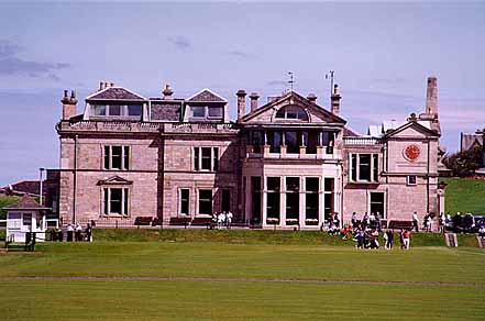 The Royal And Ancient Golf Course - St. Andrews, Scotland - 1 August 1997 19-7445